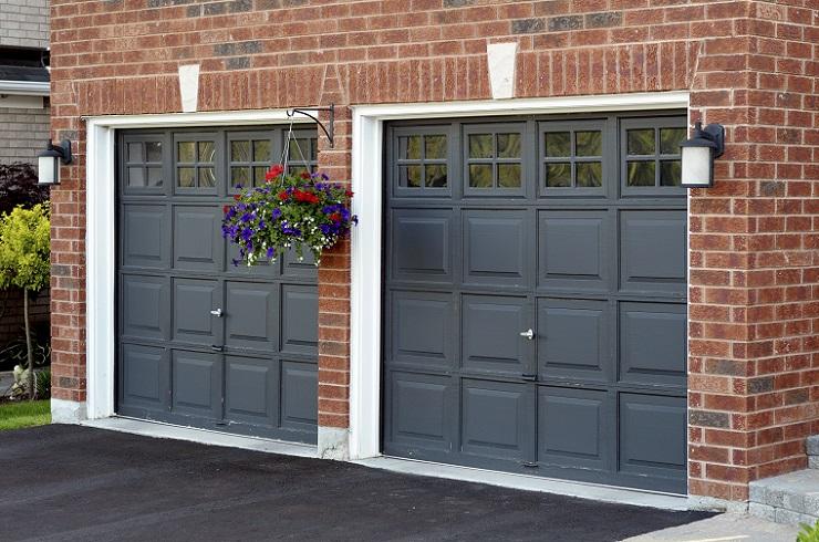 secure garage door